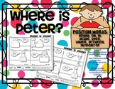 POSITION WORDS Activity: Where Is Peter?