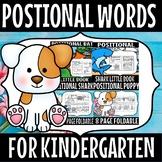 POSITIONAL WORDS KINDERGARTEN BUNDLE