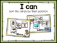 POSITIONAL WORDS: MATH ACTIVITY PACK