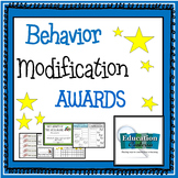 POSITIVE AWARDS FOR  BEHAVIOR MODIFICATION - certificates, bracelets, charts