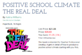 POSITIVE SCHOOL CLIMATE THE REAL DEAL