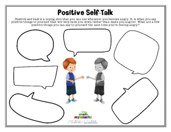 POSITIVE SELF-TALK (Anger/Blank)