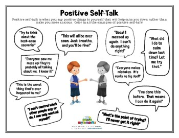 A Guide For Parents Teaching Self-Esteem Through Affirmations Teachers Positive Self-Talk for Children And Counselors