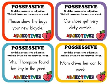 Possessive Adjectives By Rock Paper Scissors Teachers