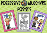 POSSESSIVE ADJECTIVES (Posters)