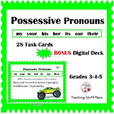 POSSESSIVE PRONOUNS ... Grammar, Parts of Speech ... Plus Boom Learning Gr 3-4-5