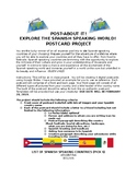 POST-ABOUT-IT!! Spanish Speaking Country Postcard Project