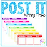 POST IT Writing Frame