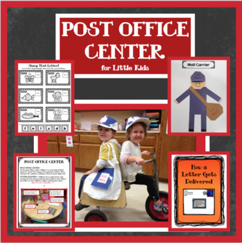 POST OFFICE CENTER & ACTIVITIES for Little Kids