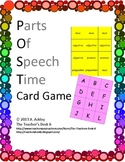 POST: Parts Of Speech Time Card Game