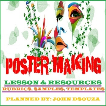 POSTER MAKING: LESSON & RESOURCES