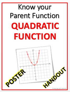 POSTER - Quadratic Parent and Transformation