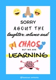 POSTER - SORRY, we are learning