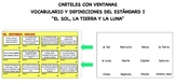 "POSTER/JUEGO ""EL SOL, LA TIERRA Y LA LUNA"" (Science Core related)"
