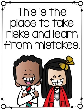 Growth Mindset Motivational Posters: Attitudes about Learning Norms for Behavior