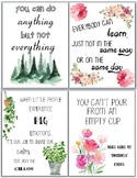 [POSTERS] Reminder Quotes for Teachers