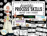 STEM Scientific Process Skills Anchor Chart Posters - 5 Versions