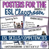 POSTERS for the ESL/EFL Classroom - Skills/Competencies an