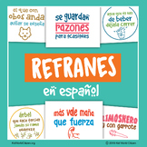 POSTERS of Proverbs and Sayings in Spanish: Refranes en Español