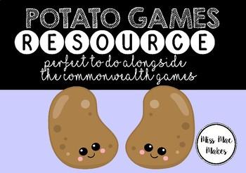POTATO GAMES- COMMONWEALTH GAMES ACTIVITY