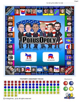 POTUS Opoly (monopoly)