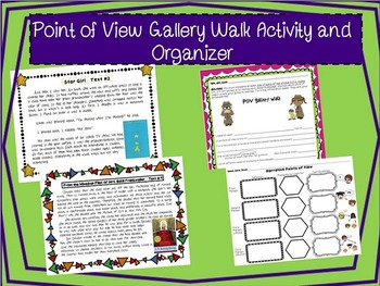 POV Gallery Walk and Graphic Organizer