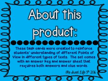 POV task cards