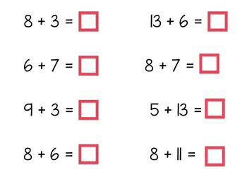 POW!  A Math Fact Game
