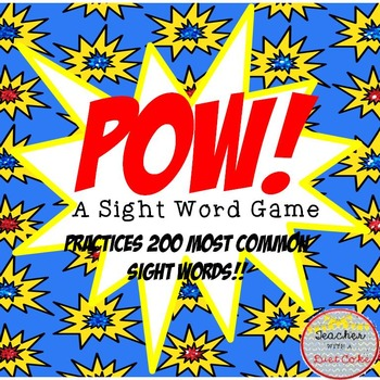 POW! A Sight Word Game