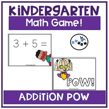 POW Addition Game: Eureka Math Module 6 Topic A