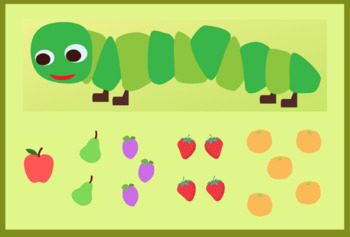 Very Hungry Caterpillar Counting Handout