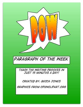 POW: Paragraph of the Week