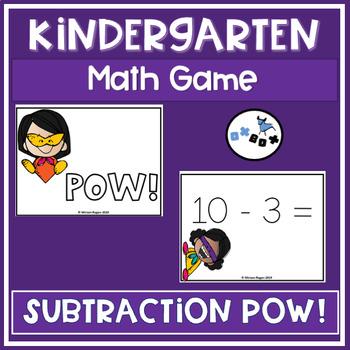 POW Subtraction Game: Eureka Math Module 6 Topic B