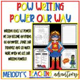 POW: Superhero Writing
