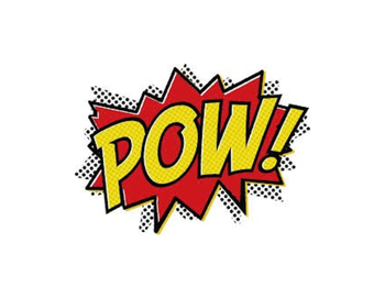 POW! Superhero themed Addition Game