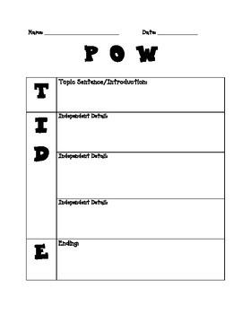 POW + TIDE