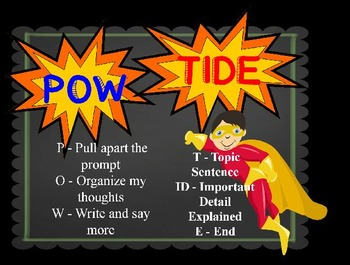 POW TIDE Power Point for First Grade