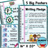POW + TIDE  SRSD Writing BIG Posters   Writing Bulletin Bo