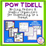 POW TIDELL Responding to a Writing Prompt Posters and Graphic Organizers