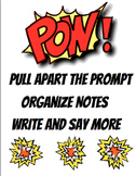 POW Writing Strategy Poster