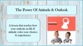 POWER OF ATTITUDE Positive V Negative Self-talk Mindfulnes