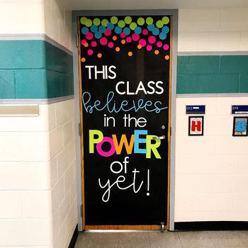 Power Of Yet Door Decoration Set