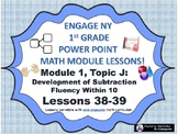 POWER POINT Slides:  1st Grade Engage NY Module 1, Topic J