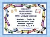 POWER POINT Slides: ENY Kindergarten Module 1, Topic A les