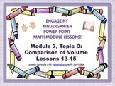 POWER POINT Slides: ENY Kindergarten Module 3, Topic D les