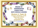 POWER POINT Slides: ENY Kindergarten Module 5, Topic B lessons 6-9!
