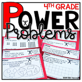 4th Grade Word Problems | Test Prep YEARLONG BUNDLE | MATH SPIRAL REVIEW