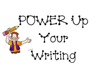 POWER Writing Strategies