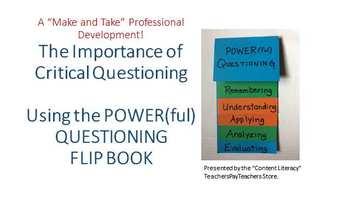 POWER(ful) Questioning Flip Book