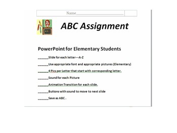 POWERPOINT ABC ASSIGNMENT